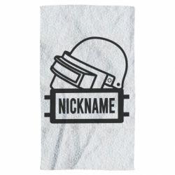Полотенце Logo and helmet