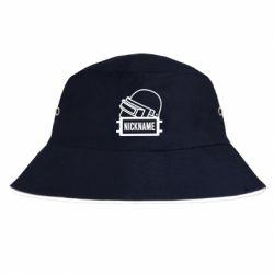 Панама Logo and helmet