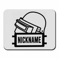 Коврик для мыши Logo and helmet