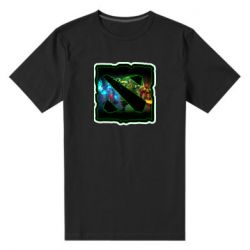 Мужская стрейчевая футболка Logo and heroes