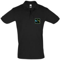Мужская футболка поло Logo and heroes