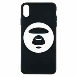 Чехол для iPhone Xs Max Logo Bape Monkey