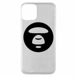 Чехол для iPhone 11 Logo Bape Monkey