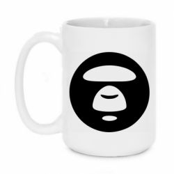 Кружка 420ml Logo Bape Monkey