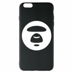 Чехол для iPhone 6 Plus/6S Plus Logo Bape Monkey