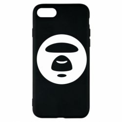 Чехол для iPhone 7 Logo Bape Monkey