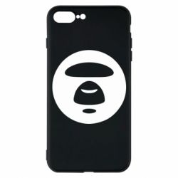 Чехол для iPhone 7 Plus Logo Bape Monkey
