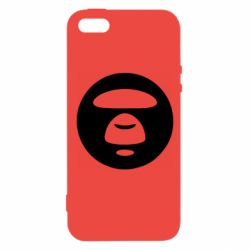 Чехол для iPhone5/5S/SE Logo Bape Monkey