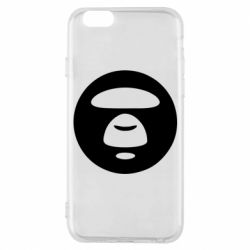 Чехол для iPhone 6/6S Logo Bape Monkey