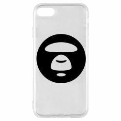 Чехол для iPhone 8 Logo Bape Monkey