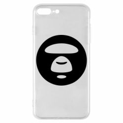 Чехол для iPhone 8 Plus Logo Bape Monkey