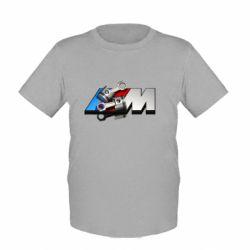 Детская футболка Logo BMW  3