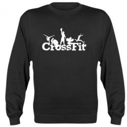 Реглан (свитшот) Logo CrossFit - FatLine