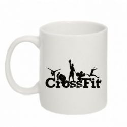 Кружка 320ml Logo CrossFit - FatLine