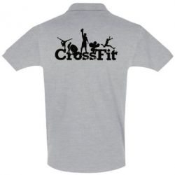 Футболка Поло Logo CrossFit - FatLine