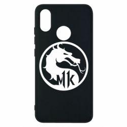 Чехол для Xiaomi Mi8 Logo Mortal Kombat 11