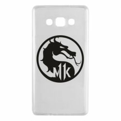 Чехол для Samsung A7 2015 Logo Mortal Kombat 11