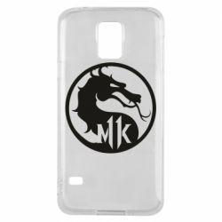 Чехол для Samsung S5 Logo Mortal Kombat 11