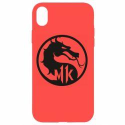 Чехол для iPhone XR Logo Mortal Kombat 11