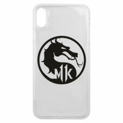 Чехол для iPhone Xs Max Logo Mortal Kombat 11