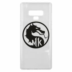 Чехол для Samsung Note 9 Logo Mortal Kombat 11
