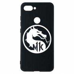 Чехол для Xiaomi Mi8 Lite Logo Mortal Kombat 11