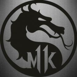 Наклейка Logo Mortal Kombat 11