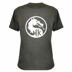 Камуфляжная футболка Logo Mortal Kombat 11