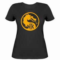 Женская футболка Logo Mortal Kombat 11