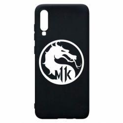 Чехол для Samsung A70 Logo Mortal Kombat 11