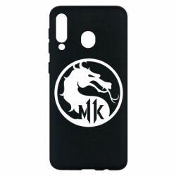 Чехол для Samsung M30 Logo Mortal Kombat 11