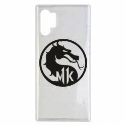 Чехол для Samsung Note 10 Plus Logo Mortal Kombat 11