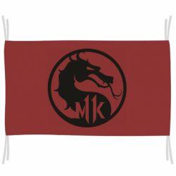 Флаг Logo Mortal Kombat 11