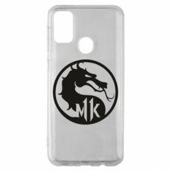 Чехол для Samsung M30s Logo Mortal Kombat 11