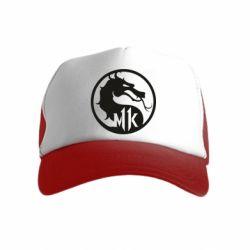 Детская кепка-тракер Logo Mortal Kombat 11