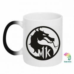 Кружка-хамелеон Logo Mortal Kombat 11