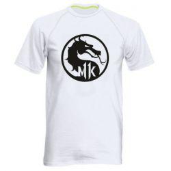 Мужская спортивная футболка Logo Mortal Kombat 11