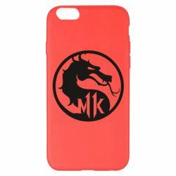 Чехол для iPhone 6 Plus/6S Plus Logo Mortal Kombat 11
