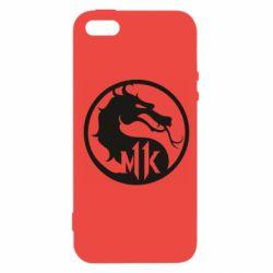 Чехол для iPhone5/5S/SE Logo Mortal Kombat 11