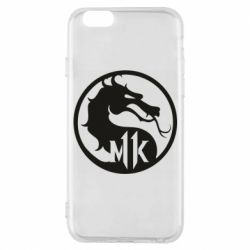 Чехол для iPhone 6/6S Logo Mortal Kombat 11