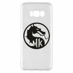 Чехол для Samsung S8 Logo Mortal Kombat 11
