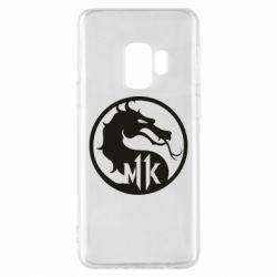 Чехол для Samsung S9 Logo Mortal Kombat 11