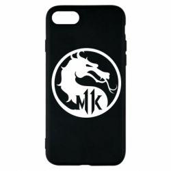 Чехол для iPhone 8 Logo Mortal Kombat 11