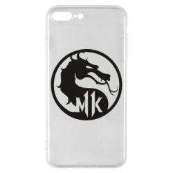 Чехол для iPhone 8 Plus Logo Mortal Kombat 11