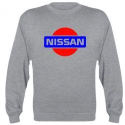 Реглан (свитшот) Logo Nissan - FatLine