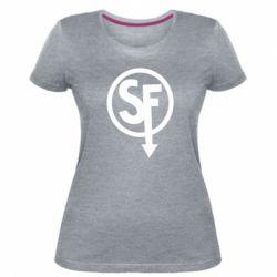 Жіноча стрейчева футболка Logo Sally Face