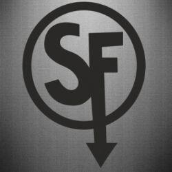 Наклейка Logo Sally Face