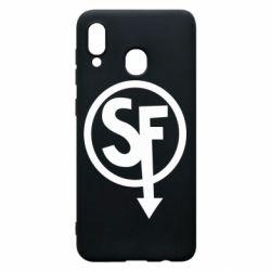 Чохол для Samsung A20 Logo Sally Face