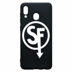 Чохол для Samsung A30 Logo Sally Face