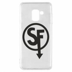 Чохол для Samsung A8 2018 Logo Sally Face